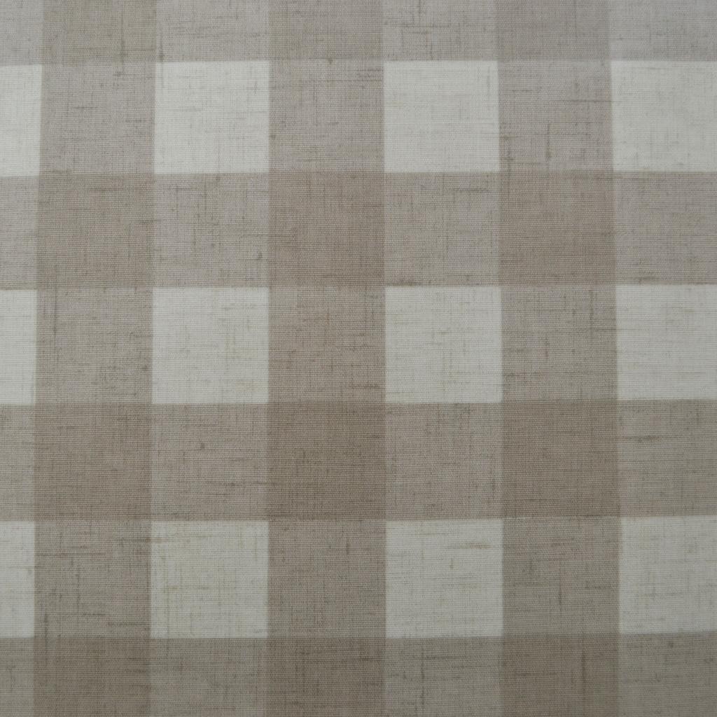 Linen Gingham Oilcloth Tablecloth