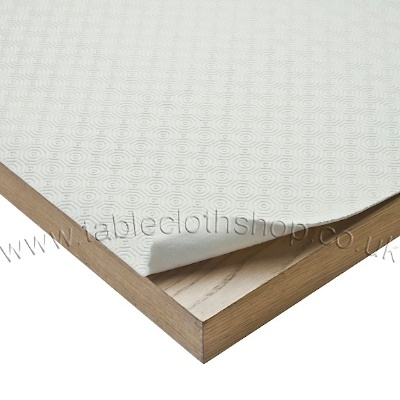 Cream Padded Table Protector
