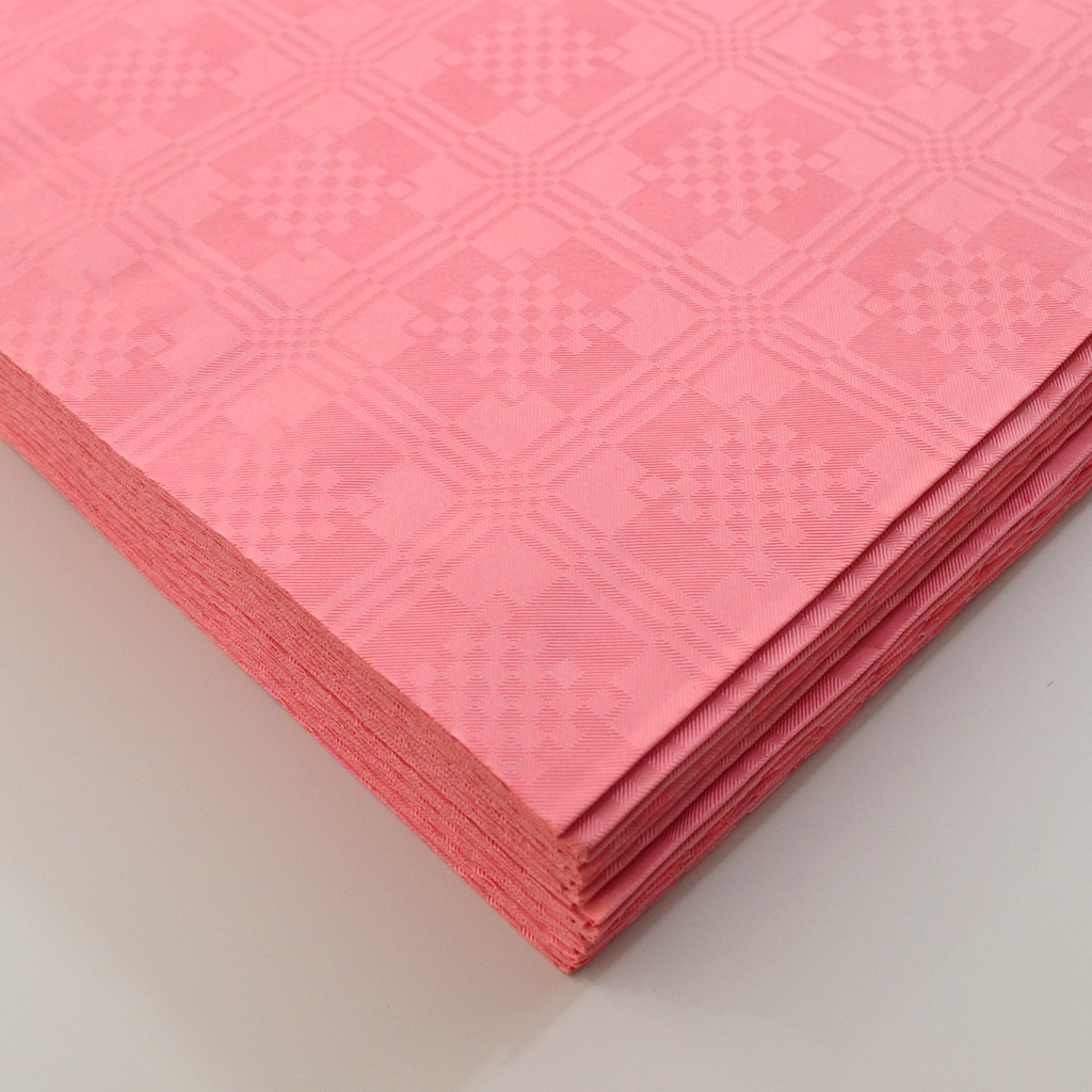 Pink Paper Table Cover X 25