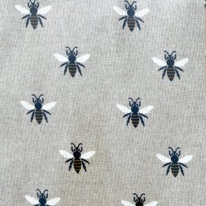 Bee Happy Oilcloth Tablecloth Main Image