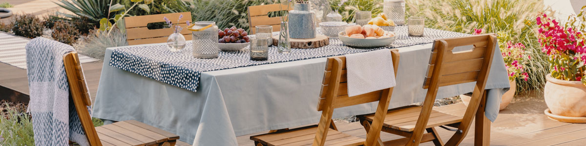 New Tablecloths Page Header Image