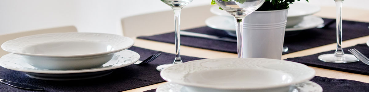 Placemats & Coasters Page Header Image