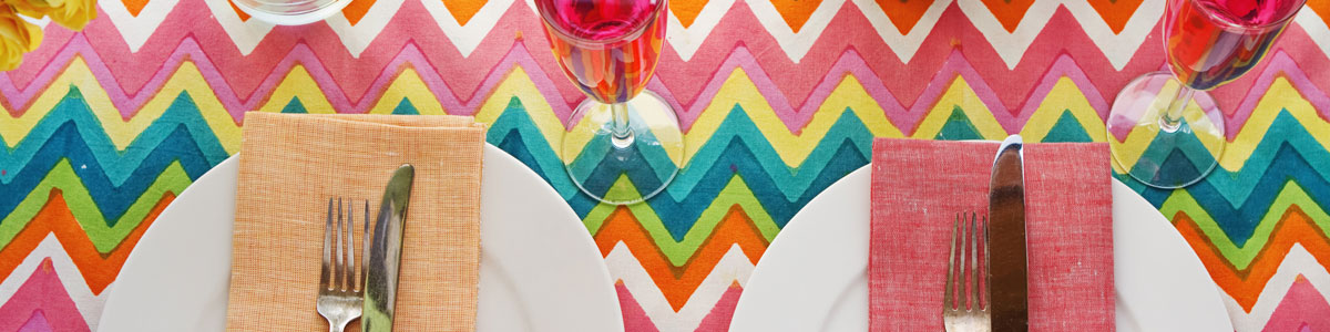 Vinyl Tablecloths Page Header Image