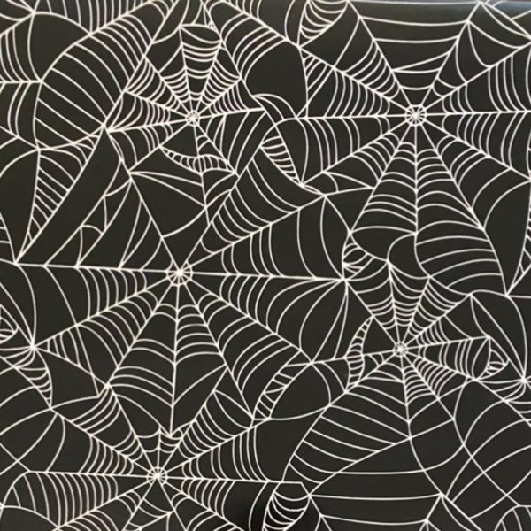 Halloween Tablecloth Spiders Web Pattern Main Image